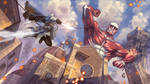 Assassin's Attack On Titan by sunsetagain