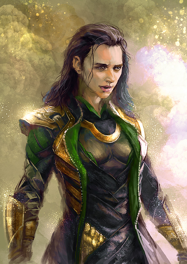 Lady Loki by sunsetagain on DeviantArt