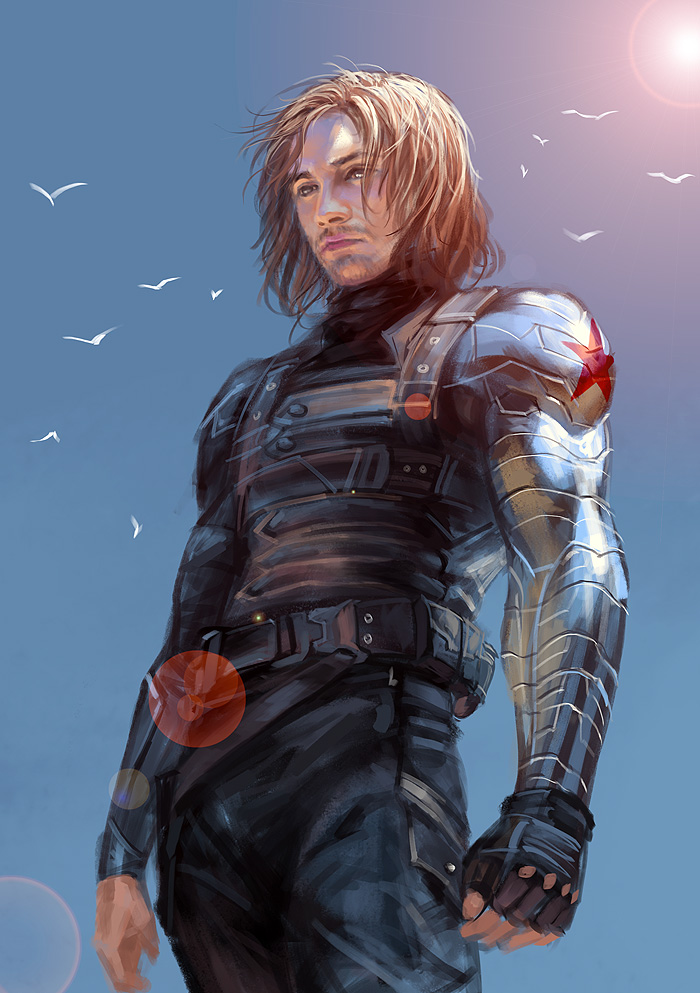 Winter Soldier By Sunsetagain ...