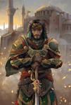 Yusuf Tazim in Ishak Pasha armor