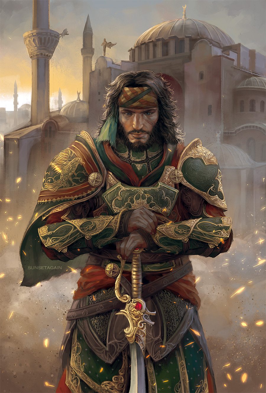 Yusuf Tazim By Sunsetagain Assassinscreed