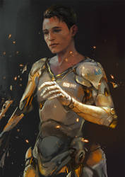 Battle Angel RK800 by sunsetagain