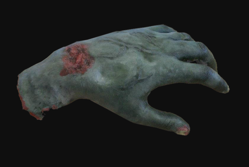 Zombie hand Sculpt by NJSFX