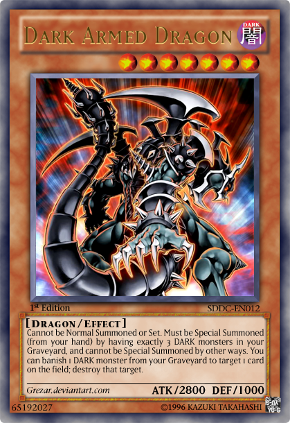 Dark Armed Dragon by grezar on DeviantArt
