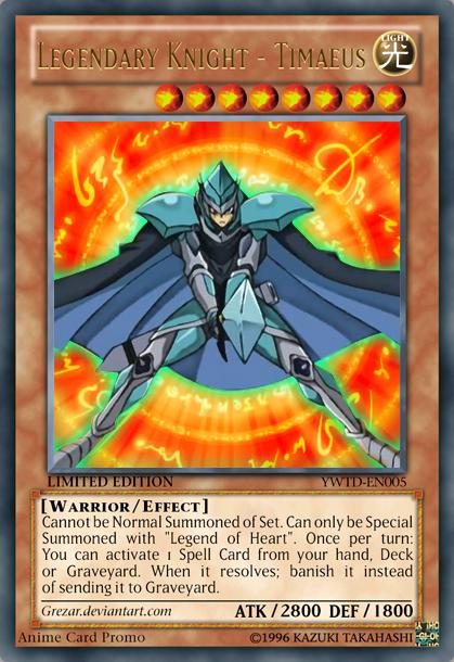 Legendary Knight - Timaeus by Yugioh Timaeus Knight