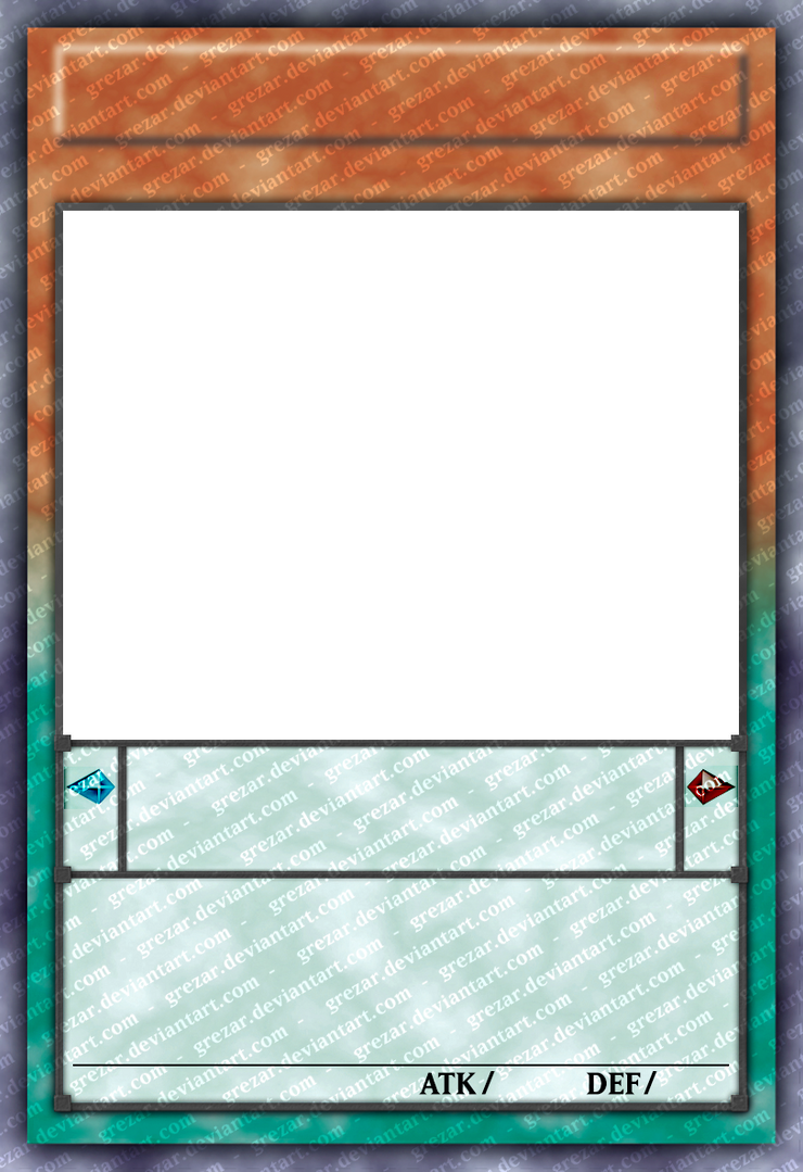 Yu-Gi-Oh! Card Template HD {version 2} by CelticGuard on DeviantArt