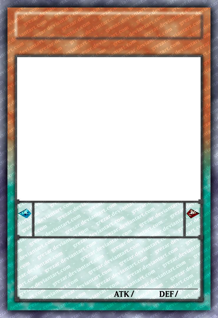 W.I.P.]Pendulum Monster Card Template by grezar on DeviantArt