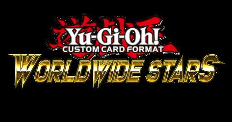 Yu-Gi-Oh! CCF Worldwide Stars Logo by grezar