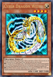 Cyber Dragon Weiss