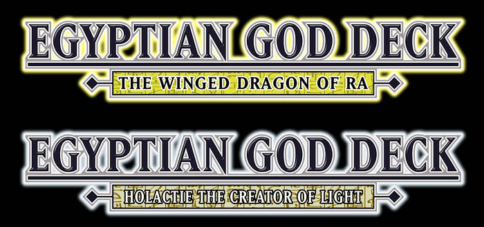 Egyptian God Deck: Ra and Holactie vers.