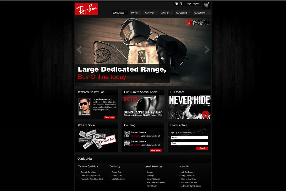 Ray Ban by MAbeer