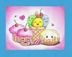 Cute food by cutiepop