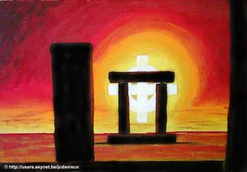 STONES 3   THE DOOR by JCDAVREUX