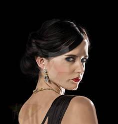 Eva Green as Vesper Lynd in Casino Royale Fanart