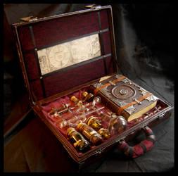 Alchemist's box: inside by ZombieArmadillo