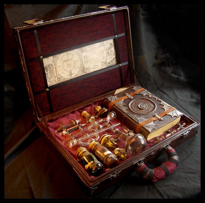 Alchemist's box: inside by ZombieArmadillo