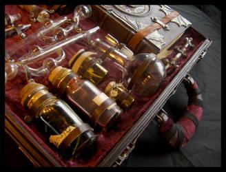 Alchemist's box: detail by ZombieArmadillo