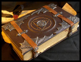 Alchemist's tome, alt. view by ZombieArmadillo