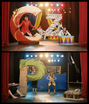 Life in the Land of Letters: Circus/Zebra/Pirates