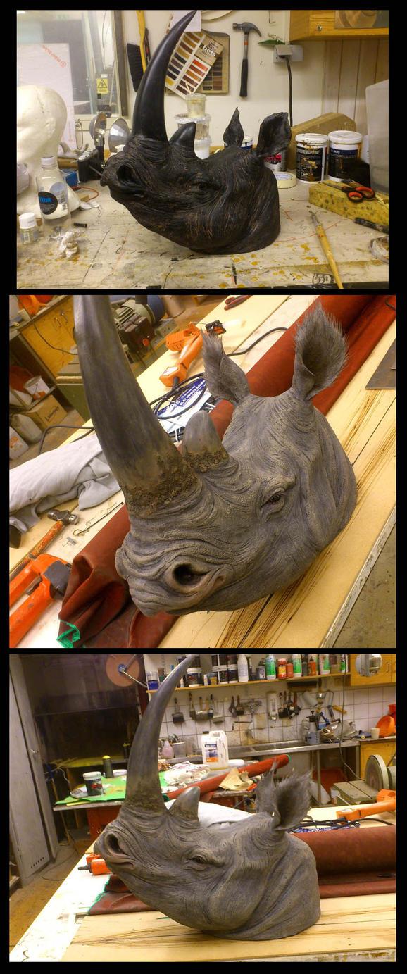 Rhino makeover by ZombieArmadillo