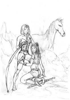 Lynn and Olympia