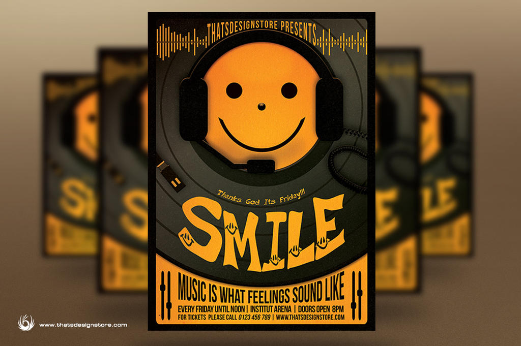 Thanks God It's Friday Flyer Template by Thats-Design
