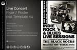 Live Concert Flyer Template V4