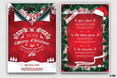 Christmas Menu Template V6 by Thats-Design