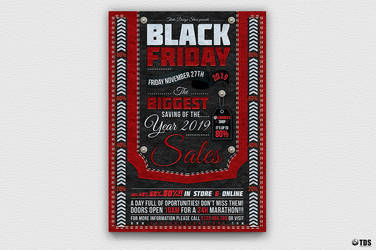 Black Friday Flyer Template by Thats-Design