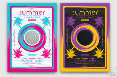 Minimal Summer Flyer Template V3 by Thats-Design