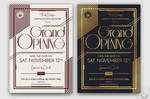 Grand Opening Flyer Template V2 by Thats-Design