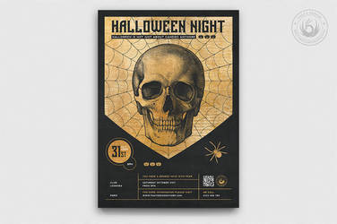 Halloween Flyer Template V26 by Thats-Design