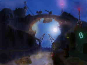 Pirate village