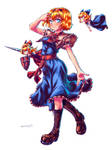 Touhou Seven Coloured Puppeteer Alice Margatroid