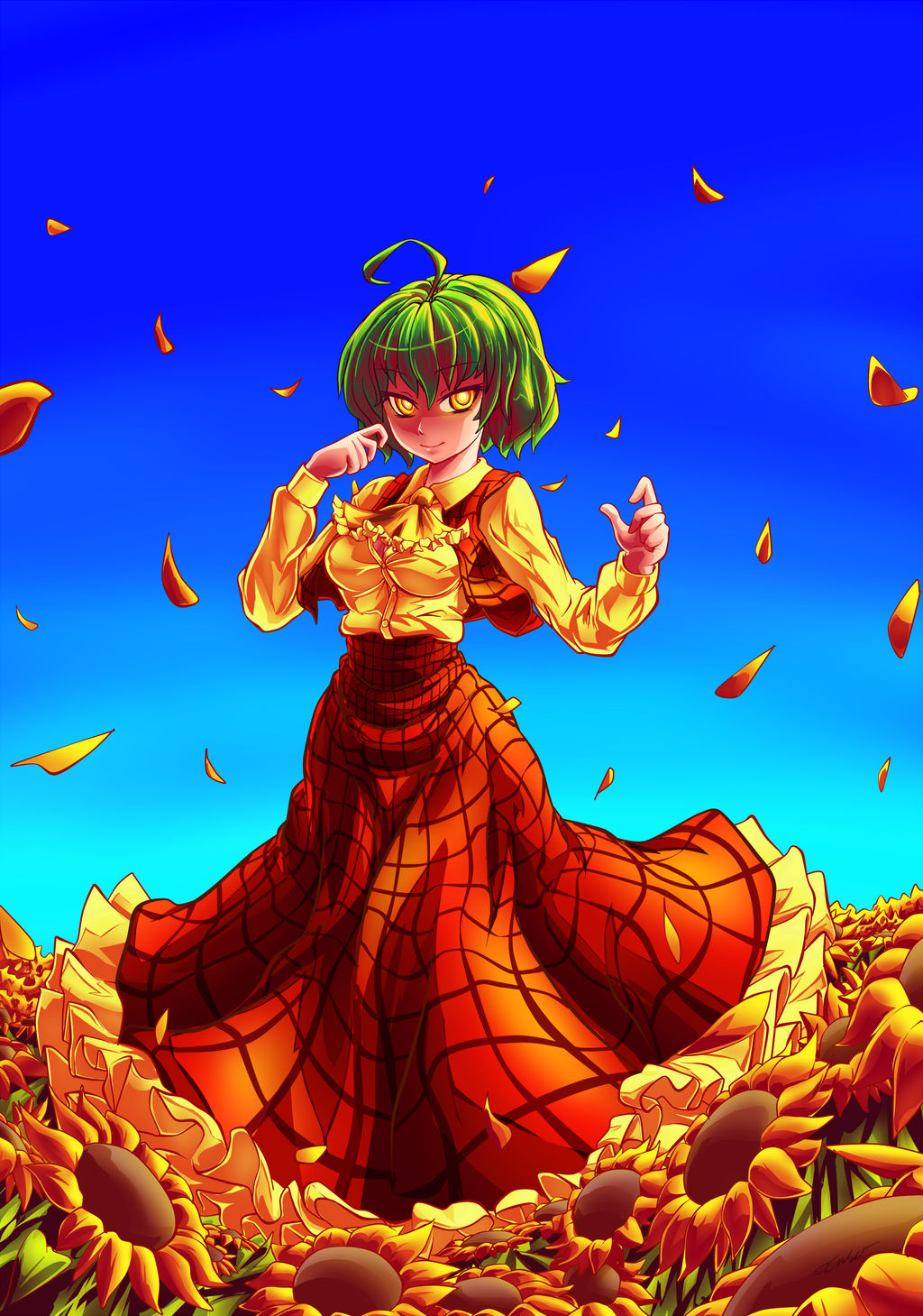Touhou Terrifying Yuuka Kazami