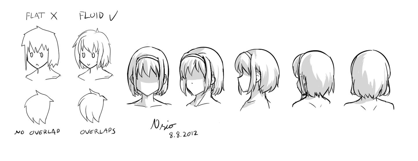 Hair demo by Nsio
