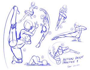 Action pose practice 1