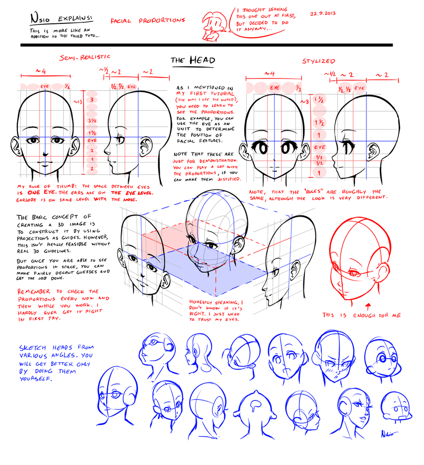 Nsio Explains Facial Proportions By