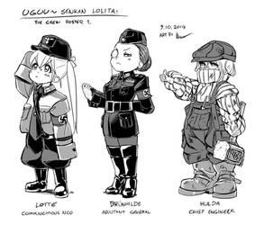 Uguu~ Senkan Lolita: The Crew Roster 1 by Nsio
