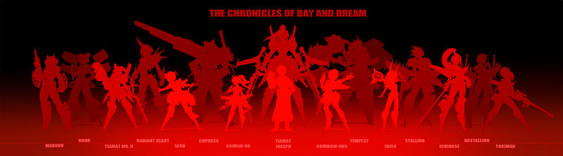 The CoDD: Character Silhouettes + Size Comparison