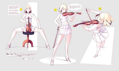 Nsio Pose Practice 18: Devil's Trill Sonata