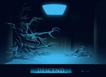 Descend: Thing In a Corridor