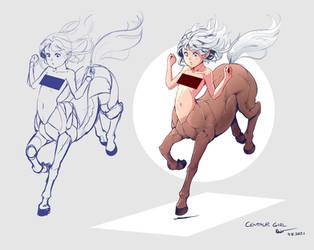 A Random Centaur Girl