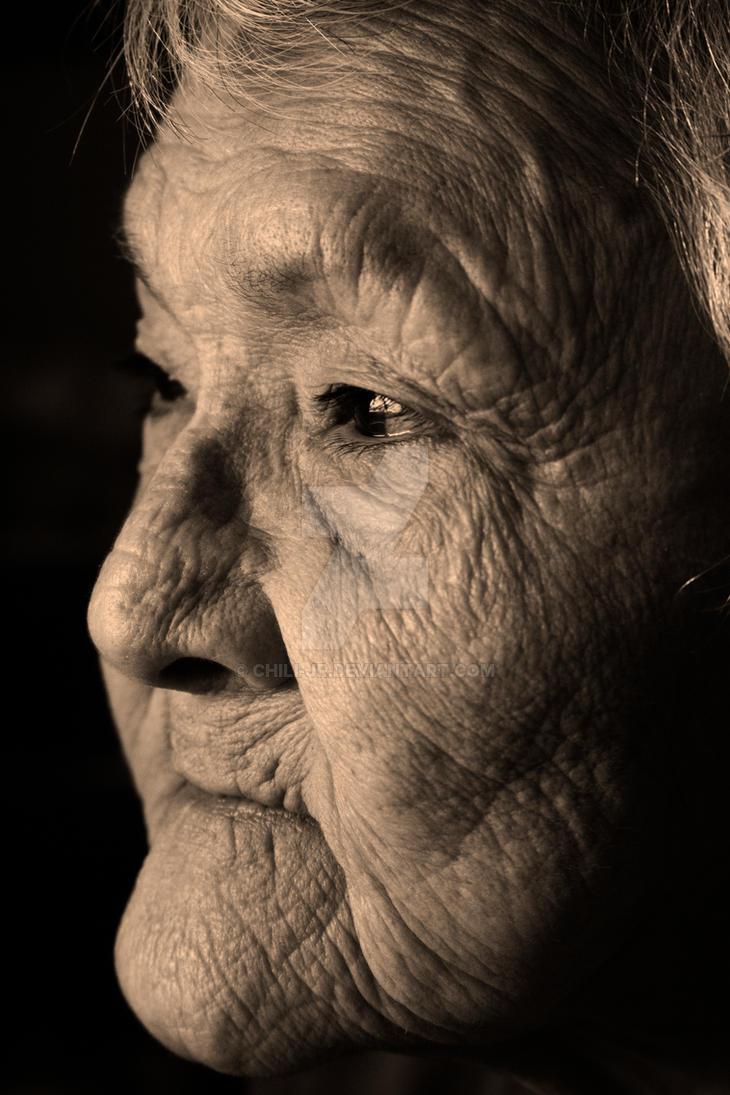Wisdom lived (A Mi'kmaq elder) by Chili-jr