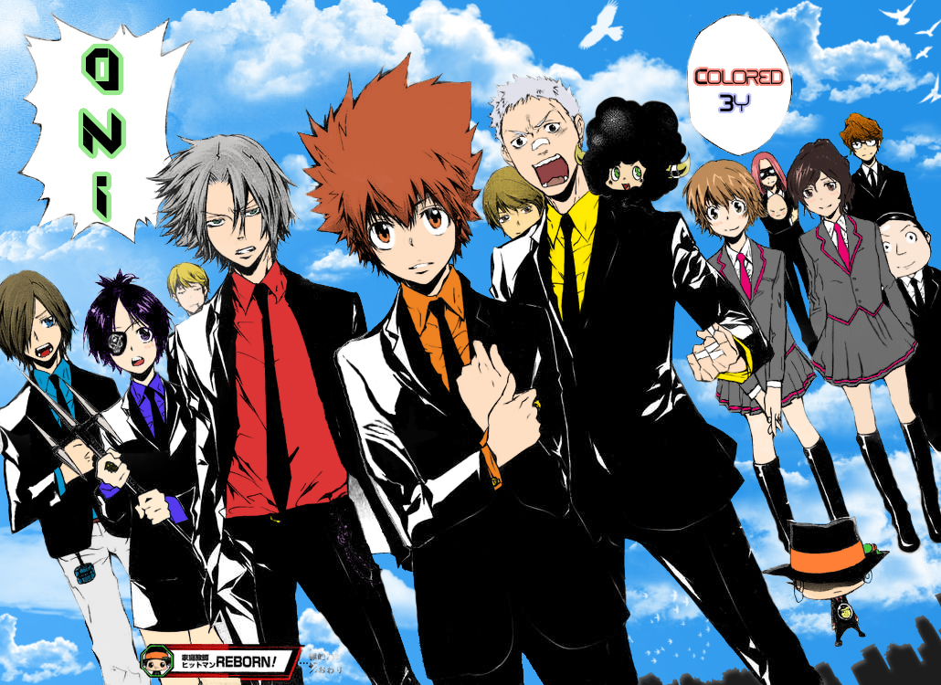 Anime Characters Born On November 6 : Katekyo hitman reborn color by oni on deviantart