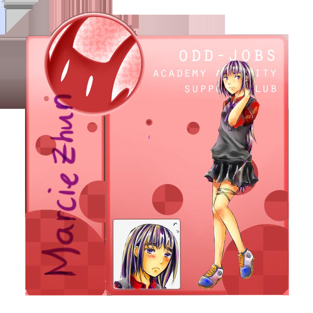 OJ: Marcie Zhun by orangemikan
