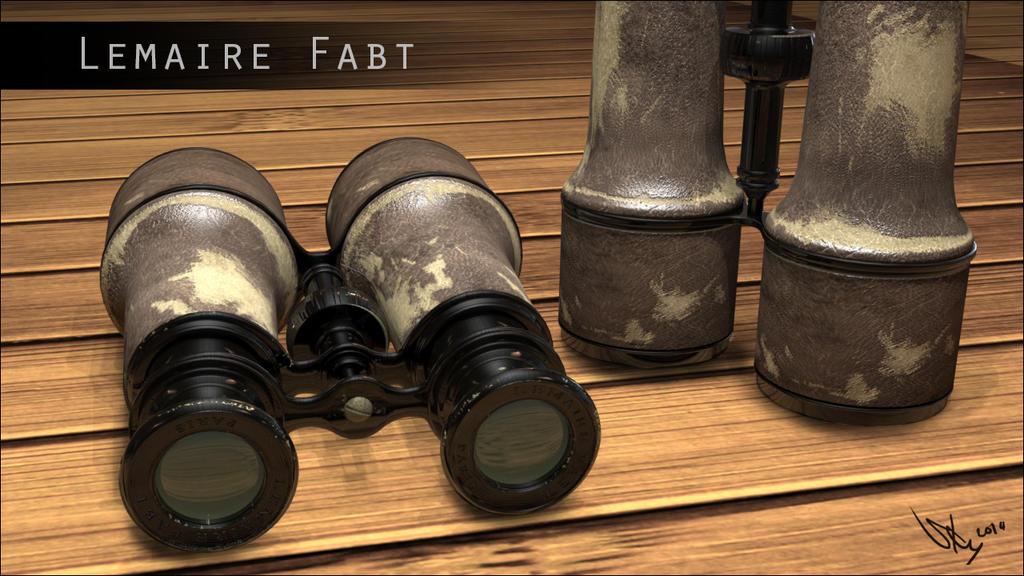 Vintage Binoculars Texture by Sky-of-ragnarok