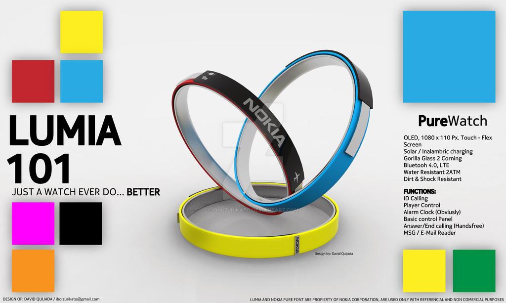 Nokia Lumia 101 (Smartwatch)