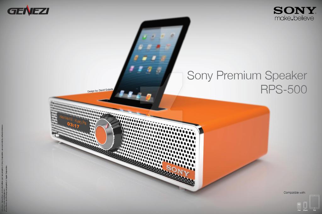 Sony Genezi RP500 by ibolzurikato