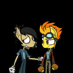 Spitfire and Pega Cousin Bond